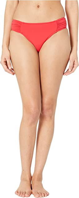 Ruched Side Retro Bottoms
