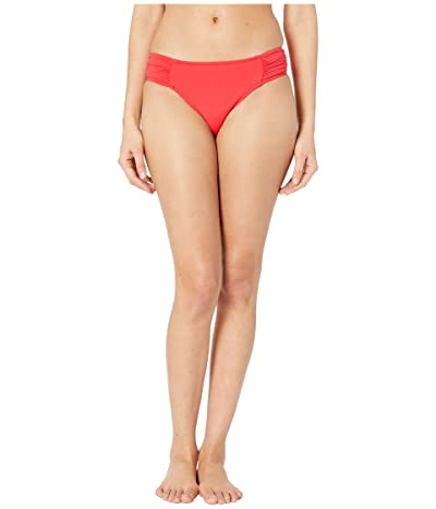 Seafolly Ruched Side Retro Bottoms (Chilli) Women