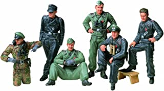 Tamiya Models German Tank Crew at Rest Model Kit