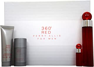Perry Ellis 360 Red Fragrance Gift Set for Men