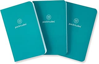 Pockitudes Daily Gratitude Journal, Pack of 3 - CLASSIC Series