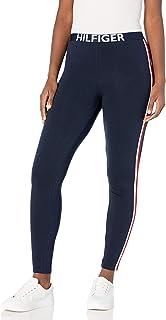 Women's Retro Style Hilfiger Logo Graphic Leggings Pant...