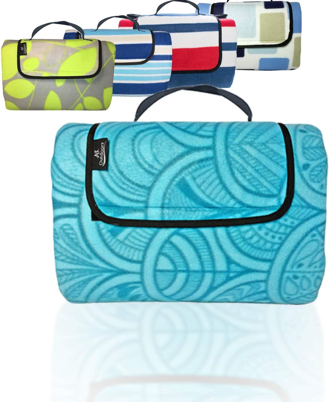 ANJ Outdoors Luxury Premium 3-Layer Large Blanke Picnic Outdoor depot Blanket