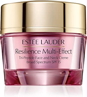 Estee Lauder Resilience Multi-Effect Tri-Peptide Face and Neck Creme SPF 15 For Normal/Combination Skin, 2.5 oz / 75ml