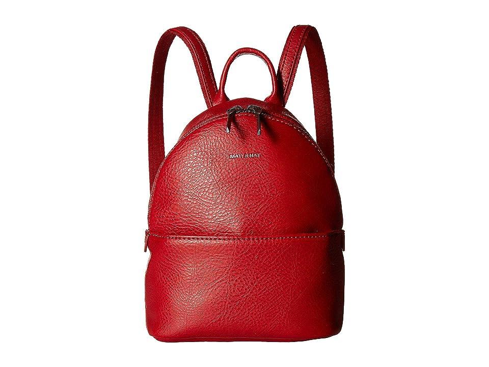 Matt & Nat Dwell July Mini (Red) Handbags