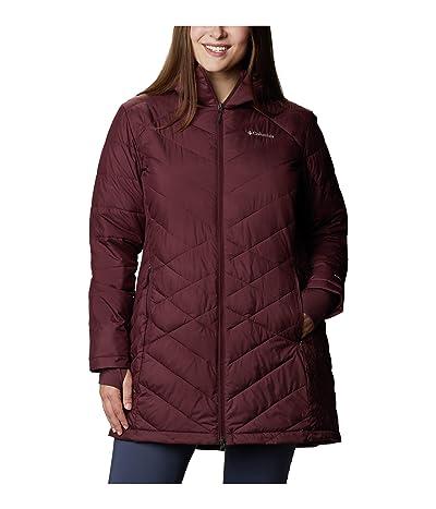 Columbia Plus Size Heavenly Long Hooded Jacket (Seminole) Women