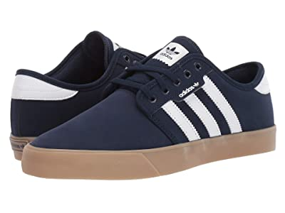 adidas Skateboarding Seeley (Collegiate Navy/Footwear White/Gum 4) Men