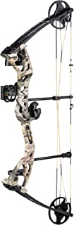 Bear Archery Limitless Dual Cam Compound Bow - Includes Quiver, Sight and Rest, God's Country