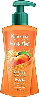 Himalaya Fresh Start Oil Clear Face Wash, Peach, 200ml
