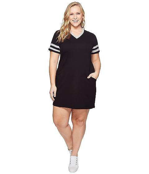Kari Lyn Plus Size Sadie V Neck Dress At Zappos