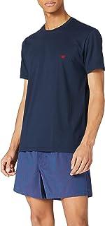 Emporio Armani Men's Underwear Pyjamas Yarn Dyed Woven Pajama Set