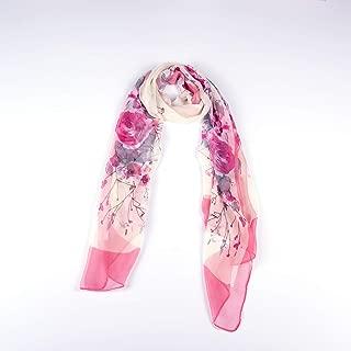Women's Chiffon Scarf Lightweight Fashion Shawl Wrap Scarves