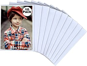 Iconikal 4 x 6 Magnetic Photo Sleeves, 10 Pack