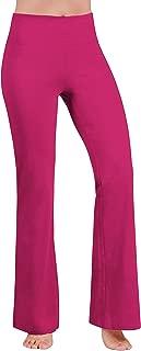Women's Boot-Cut Yoga Pants Tummy Control Workout Non...