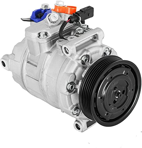 popular Mophorn CO 10730AC 7SEU16C 4B0260805BX CO 10730C Universal Air AC Compressor With 6 Groove Clutch Compatible With 02-05 Audi A4 high quality Quattro, A6 Quattro 1.8 3.0L,Volkswagen R32 3.2L 97348 98348 98354 outlet online sale 97354 outlet sale