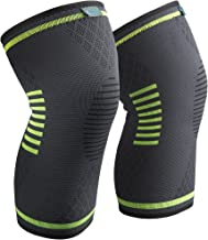 Sable Knee Brace Support Compression Sleeves for Men and Women, 1 Pair FDA Registered..