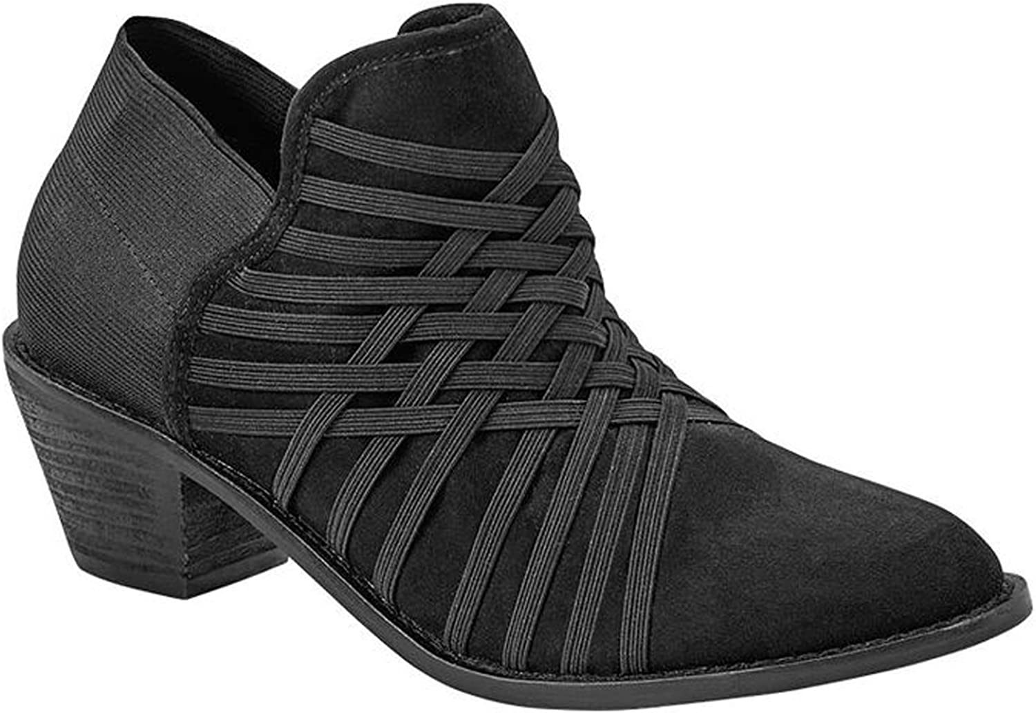 Zee Alexis Womens Molly Ankle Boots Black