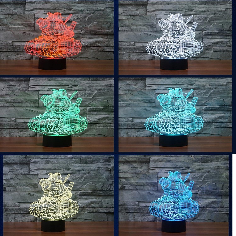 Tischlampe 3D Nachtlicht Bunte USB Fernbedienung Touch Batterie LED Licht Acryl Nachtlicht B07G133LXD  | Kompletter Spezifikationsbereich