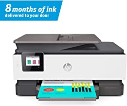 HP OfficeJet Pro 8035 All-in-One Wireless Printer – Includes 8 Months of Ink..