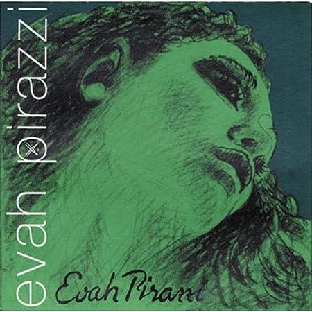 Pirastro Evah Pirazzi 4/4 Violin String Set - Medium Gauge - With Loop-End Gold-Plated E