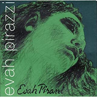 Pirastro Evah Pirazzi 4/4 Violin String Set - Medium Gauge - With Ball-End Gold-Plated E