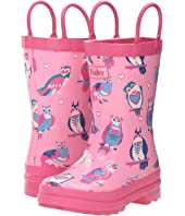 Hatley Kids - Happy Owl Rain Boots (Toddler/Little Kid)
