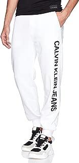 Calvin Klein Men's J30J310451-White Jeans