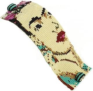 Limited Production Artisan Made Classic Frida Kahlo Portrait 7