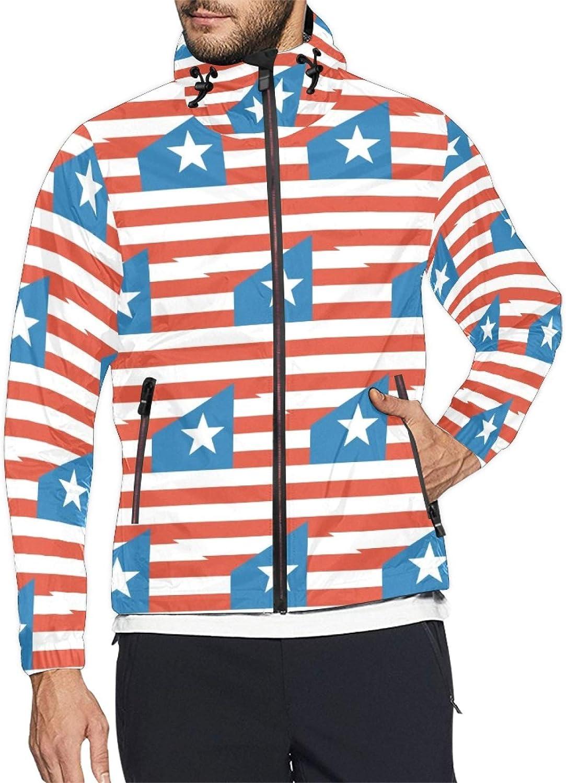 Large discharge sale Liberia Flag Mens and Womens Windbreaker Windproof Popular brand Jacket