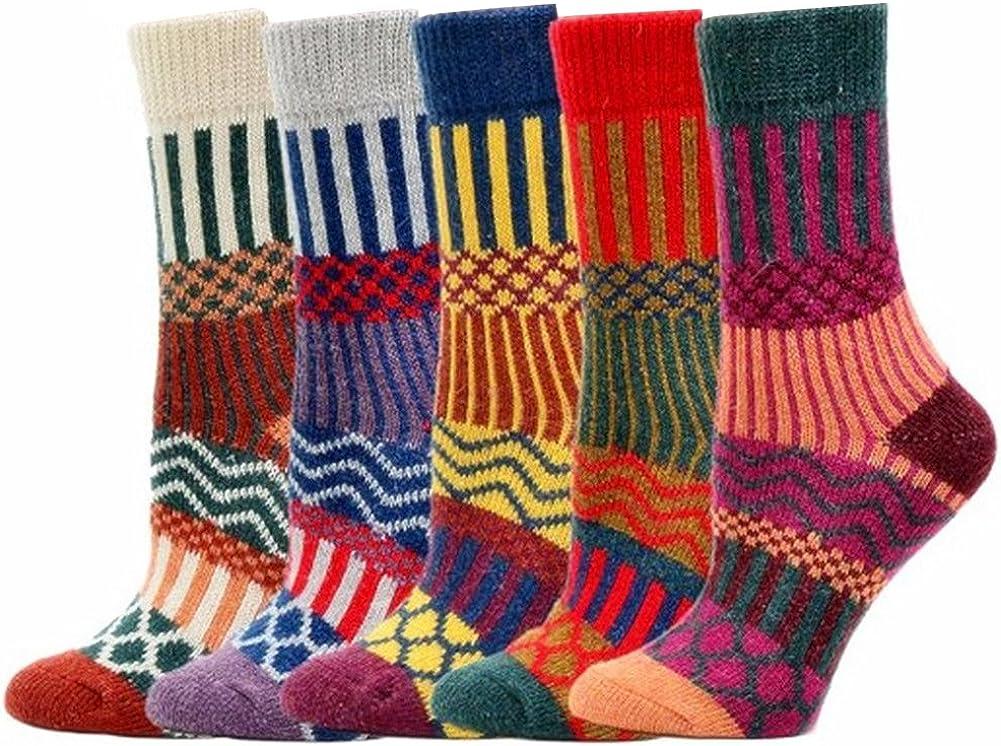 Colori adulti unisex Calzini Moliker calzini termici vari disegni Cute Cartoon calzini