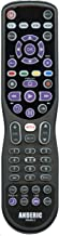 Anderic Made for Roku 4-Device 4-in-1 Advanced Smart Universal Remote Control with Macro, Learning, Backlighting for All TVs/Roku TVs/HDTVs/Smart TVs/Blu-Ray Players/Audio/Sound Bars/Roku RRUR01.3