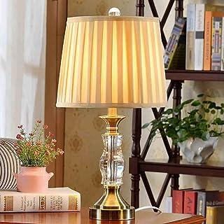 DLewiee Europäische Minimalistisch Moderne Kristall Lampe Wohnzimmer Schlafzimmer Schlafzimmer Schlafzimmer Nachttischlampe Kreative Gehobene Dekorative Lampen B01JGNP10U  Offizielle Webseite 0274b9