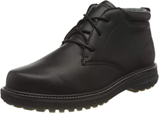 Skechers Mid Top Lace Up Boot, Bottine Homme