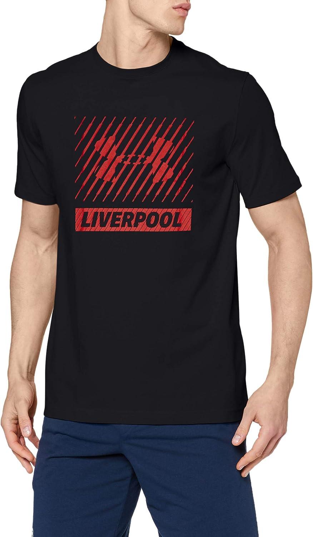 Under Armour Liverpool Big Logo SS T Camiseta de Manga Corta, Hombre