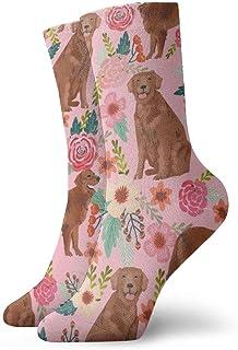 yting, Niños Niñas Locos Divertidos Golden Retriever Calcetines para perros Lindos calcetines de vestir de novedad