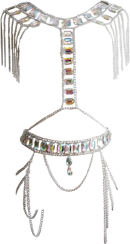 Connie Cloris Women's Fashion Sexy Suit Body Chain
