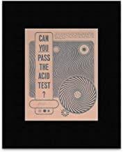 Stick It On Your Wall The Greatful Dead Movies Neal Cassady - Can You Pass The Acid Test San Francisco Rock 1966 Mini Poster - 25.4x20.3cm