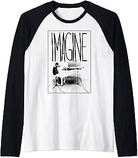 John Lennon - Imagine Piano Manche Raglan