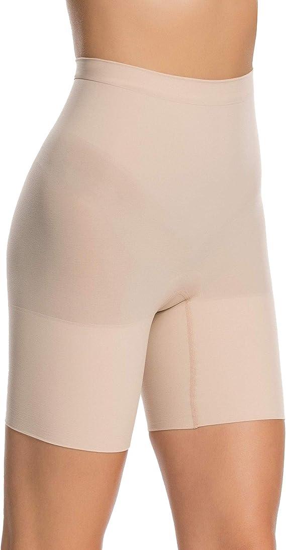 SPANX Women/'s Higher Power Tummy Control Shorts sz M Medium Soft Nude Shapewear