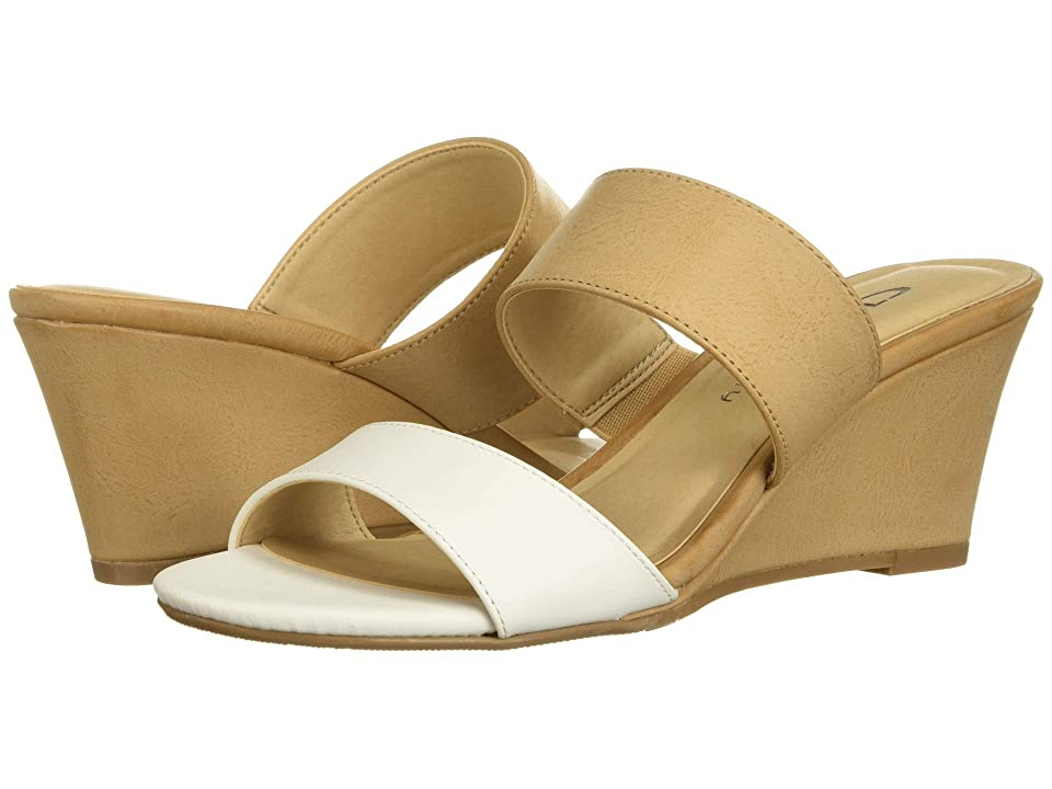CL By Laundry Tulip (White/Pale Nude Burnished) Women