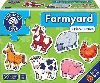 Orchard Toys Farmyard Jigsaw Puzzle, Multicolour