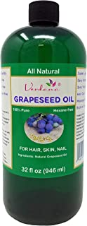 Verdana Grapeseed Oil – Essential for Silky Hair, Skin, Face & Nails – Care for Sensitive Skin – Super Light - All Natural...