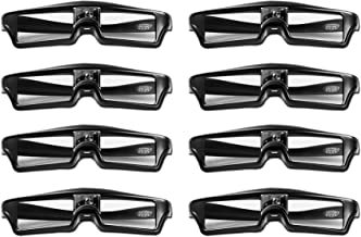 Goswot 144Hz Rechargeable DLP Active Shutter Eyewear for Optoma Acer Vivitek Dell LG and..