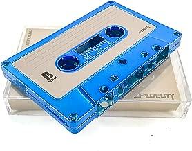 FYDELITY Blank Cassette Mixed Tape C-60 Audio 60-Min 10 Pack: Blue Steel Chrome