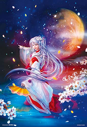 Depth fountain Mayo 300 Piece Li Mon  Moonlit dance  93-067 (japan import) by Beverly