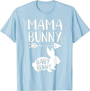 Mama Bunny Cute Easter Shirt Pregnant Mom Gift