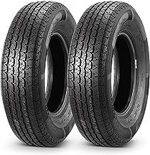 Set of 2 Radial DOT Trailer Tires 205/75R14 ST20575R14 8PR/Load Range D