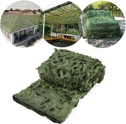 Size : 3*3M techo camping Verde Al aire libre fotografía. Lona alquitranada Camo Shade Sun Netting Tienda de sombrilla de malla de protección solar Adecuado para Fotografía Decoración Jardín