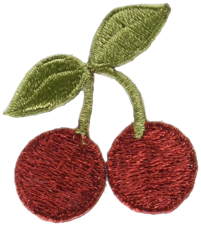 Blumenthal Lansing Iron-On Appliques-Cherries 1/Pkg