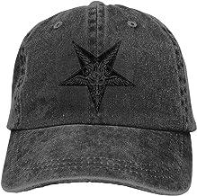 Pentagram Satanic Goat Devil Star Gorra de béisbol Unisex Moda Casquette Glock Sombrero Gorra Ajustable para jóvenes Hombres Mujeres Sombreros Deportivos al Aire Libre